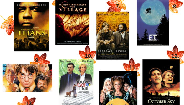 Best Movies for Fall