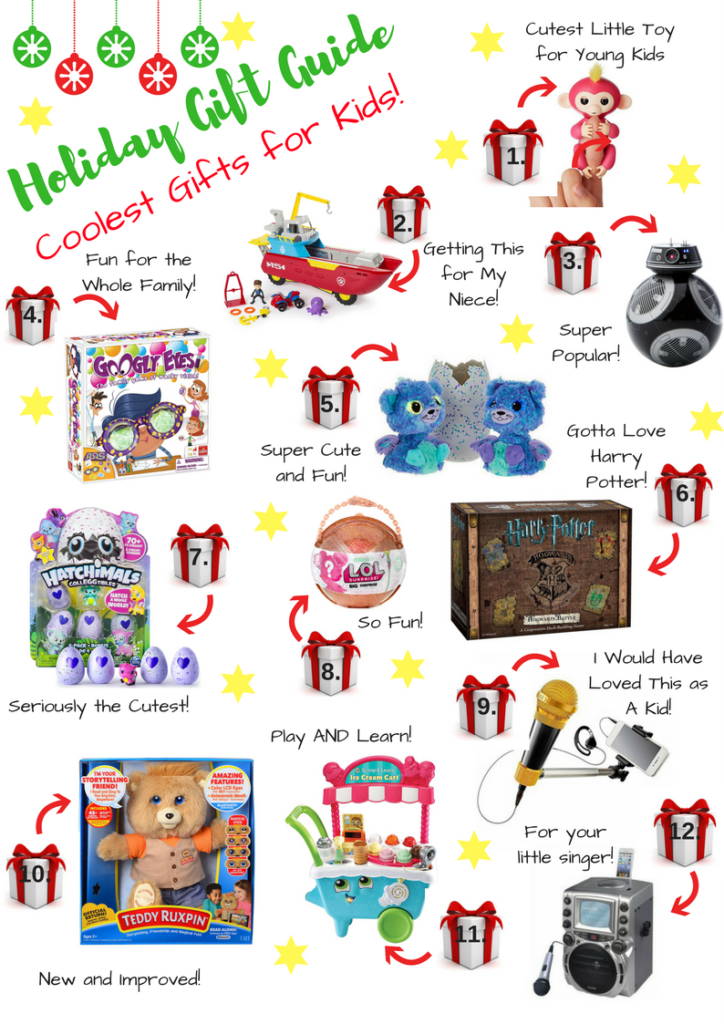 Holiday Gift Guide: Coolest Gifts for Kids!