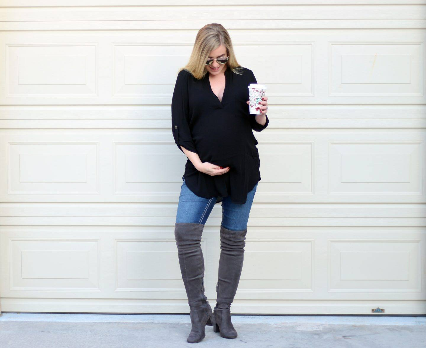 Best Non-Maternity Top…For Pregnancy & My Year in Review